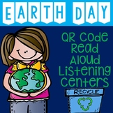 Distance Learning: Earth Day QR Code Read Aloud Listening Centers