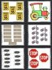 Transportation Read, Write, and Count the Room {Literacy and Math} {CCSS}