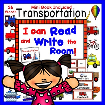 Transportation:  Read and Write the Room