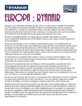Transportation - Renfe & Ryanair