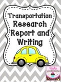 Transportation Research Report and Writing