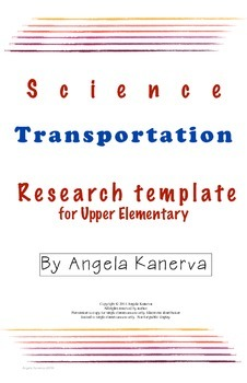 Transportation Research Template