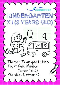 Transportation - Run, Minibus (I): Letter Q - K1 (3 years