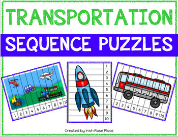Transportation Sequence Puzzles