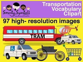 Transportation Set: 86 PNG Images