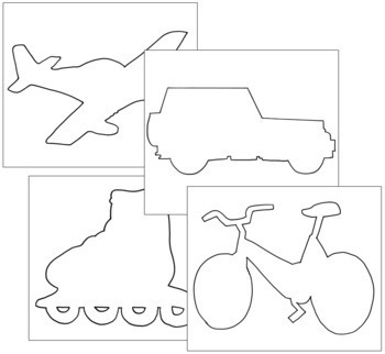 Transportation Shapes: Pin-Poke & Cutting