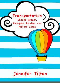 Transportation Shared Reader, 2 Emergent Readers and Pictu