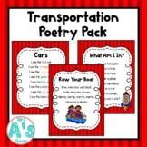 Transportation Shared Reading Set