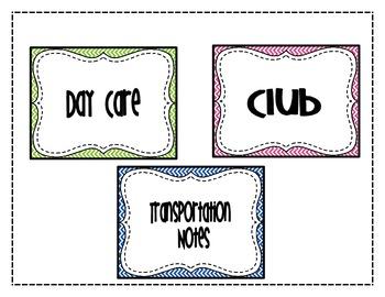 Transportation Signs