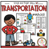 Transportation Songs and Finger Play plus Puppet Sticks