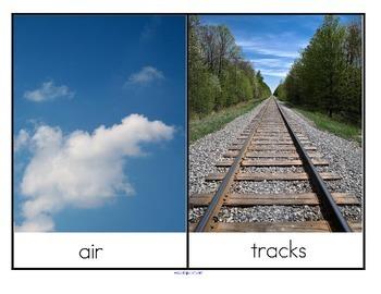 Transportation Sort - Road, Air, Water, Tracks -  32 real photos