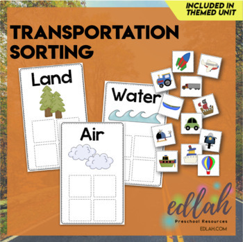 Transportation Sorting Boards (Full Color Version)