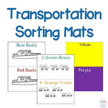 Transportation Sorting Mats