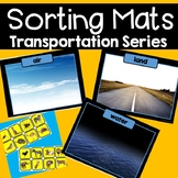 Transportation Sorting Mats Independent Work Station With Real Images of Vehicle