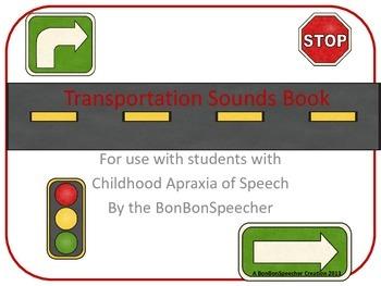 Transportation Sounds Book