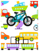 Transportation Spelling Book