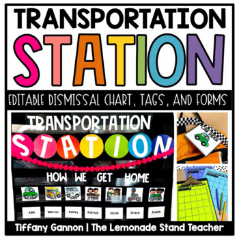Transportation Chart Station Organizational Pack