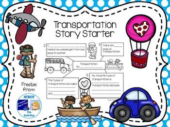 Transportation Story Starter