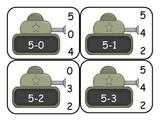 Transportation Subtraction Cip Cards