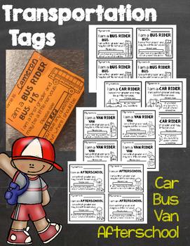 Transportation Tags