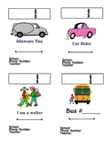 Car Riders / Bus / Walkers / Aftercare Bus Tags