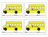 Transportation Tags for Backpacks