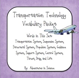 Transportation Technology Vocabulary Packet