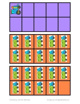 Transportation Ten Frames