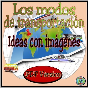 Transportation Thematic Images and Vocabulary .PDF version