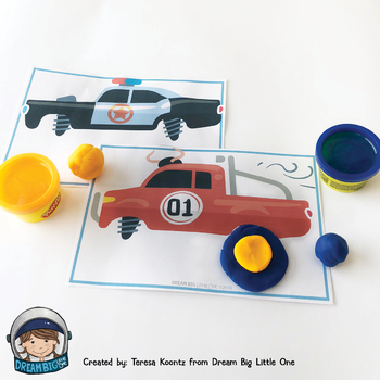 Transportation Activities (Circle Time, Centers, Small Group) BUNDLE