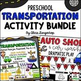 Preschool Transportation Theme Activity Pack