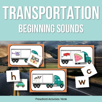 Transportation Theme Beginning Sounds