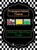 Transportation Theme - Colour Sorting Train