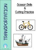 Transportation Theme - Cutting Practice