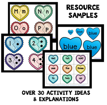 Heart Theme Home Preschool Lesson Plans