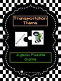 Transportation Theme - Jigsaw Puzzle Game