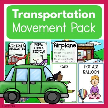 Transportation Theme Movement Pack