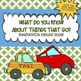 Transportation Mini Book