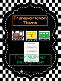 Transportation Theme - Train Number Recognition