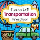 Transportation Theme Unit Preschool