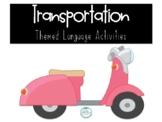 Transportation Themed Activities