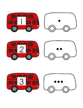 Transportation Themed File Folder Activities for Special Education