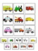 Transportation Themed File Folder Activities for Sorting,