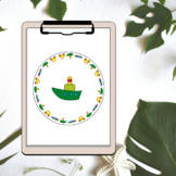 Transportation Themed Hole Punch Activity