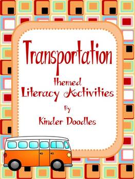 Transportation Themed Literacy Activities aligned to CCSS