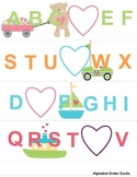 Transportation Themed Literacy Packet with 3 Alphabet Activities