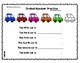 Transportation Themed Ordinal Number Practice Pages