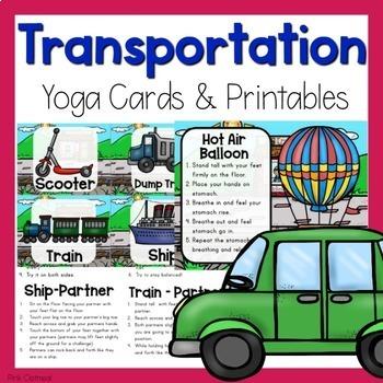 Transportation Themed Yoga
