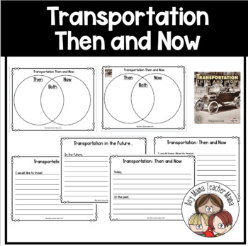 Transportation then and now venn diagram and writing prompts tpt transportation then and now venn diagram and writing prompts ccuart Image collections