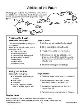 Transportation: Thinking Activities